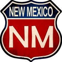 New Mexico Highway Shield Novelty Metal Magnet HSM-526