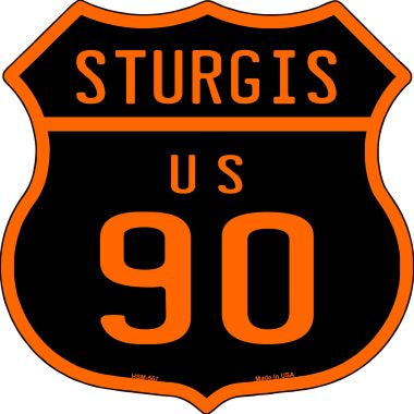 Sturgis US 90 Novelty Metal Highway Shield Magnet HSM-567