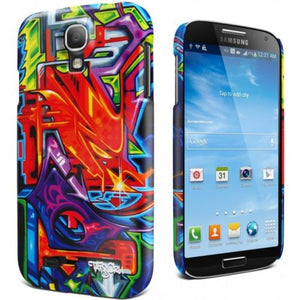 Galaxy S4 Cygnett Tats Cru Bio Graffiti Quiet Storm Soft-touch Case/Skin