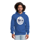 New York City Subway train funny Logo parody Men's Hoodie - royal blue