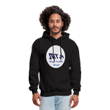 New York City Subway train funny Logo parody Men's Hoodie - black