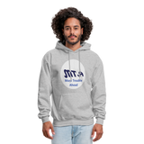 New York City Subway train funny Logo parody Men's Hoodie - heather gray
