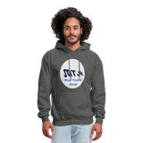 New York City Subway train funny Logo parody Men's Hoodie - charcoal gray