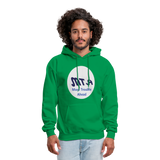 New York City Subway train funny Logo parody Men's Hoodie - kelly green