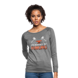 I'd Rather Be Forging Blacksmith Forge Hammer Women's Crewneck Sweatshirt - heather gray