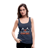 I'd Rather Be Forging Blacksmith Forge Hammer Women's Premium Tank Top - navy