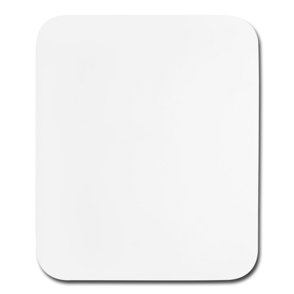 Customizable Vertical Mouse pad add your own photos, images, designs, quotes, texts and more - white