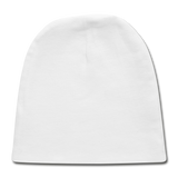 Customizable Baby Cap add your own photos, images, designs, quotes, texts and more - white