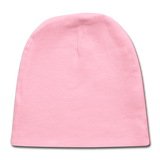 Customizable Baby Cap add your own photos, images, designs, quotes, texts and more - light pink