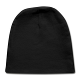Customizable Baby Cap add your own photos, images, designs, quotes, texts and more - black