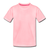 Customizable Toddler Premium T-Shirt add your own photos, images, designs, quotes, texts and more - pink