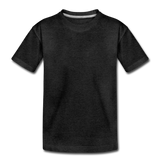 Customizable Toddler Premium T-Shirt add your own photos, images, designs, quotes, texts and more - charcoal gray