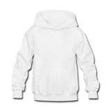 Customizable Kids' Hoodie add your own photos, images, designs, quotes, texts and more - white