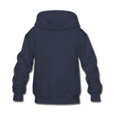 Customizable Kids' Hoodie add your own photos, images, designs, quotes, texts and more - navy