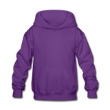 Customizable Kids' Hoodie add your own photos, images, designs, quotes, texts and more - purple