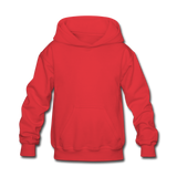 Customizable Kids' Hoodie add your own photos, images, designs, quotes, texts and more - red