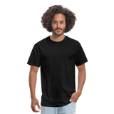 Customizable Unisex Classic T-Shirt add your own photos, images, designs, quotes, texts and more - black