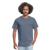 Customizable Unisex Classic T-Shirt add your own photos, images, designs, quotes, texts and more - denim
