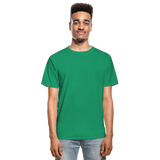 Customizable Hanes Adult Tagless T-Shirt add your own photos, images, designs, quotes, texts and more - kelly green