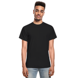 Customizable Gildan Ultra Cotton Adult T-Shirt add your own photos, images, designs, quotes, texts and more - black