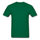 Customizable Gildan Ultra Cotton Adult T-Shirt add your own photos, images, designs, quotes, texts and more - bottlegreen
