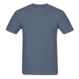 Customizable Gildan Ultra Cotton Adult T-Shirt add your own photos, images, designs, quotes, texts and more - denim