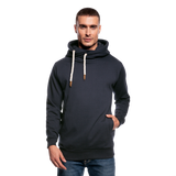 Customizable Shawl Collar Hoodie add your own photos, images, designs, quotes, texts and more - navy