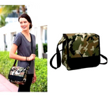 The Ultimate Deluxe Lunch Cooler Messenger Tablet Bag
