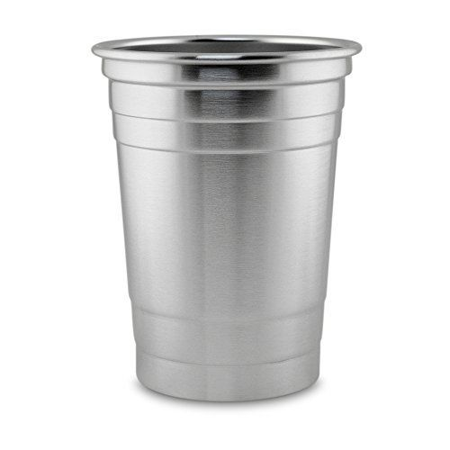 16 oz Stainless Steel Beer Cup