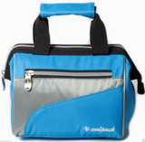 Insulated Lunch Bag Cooler,Wide open top design, Front pocket, Top carry handle
