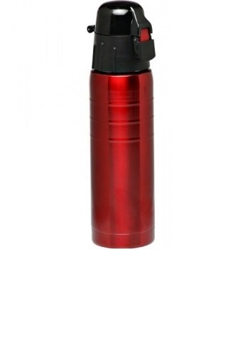 Large 25 Oz Stainless-steel, Flip-top Sports Hydration Bottle Bpa-free