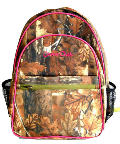 Deluxe Large Backpacks Oakwood Outdoors Camo Weather Resistant Multipocket Schoolbag, backpack and daypack