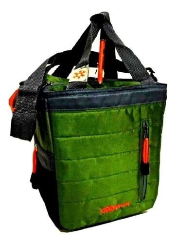COOLPACK'S 18 & 12 can Insulated Lunch Tote bag Coolers
