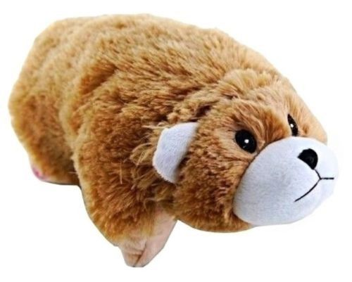 Dazzle Pets, animal Light up Plushie Doll Pillow for Kids! Barry the Bear