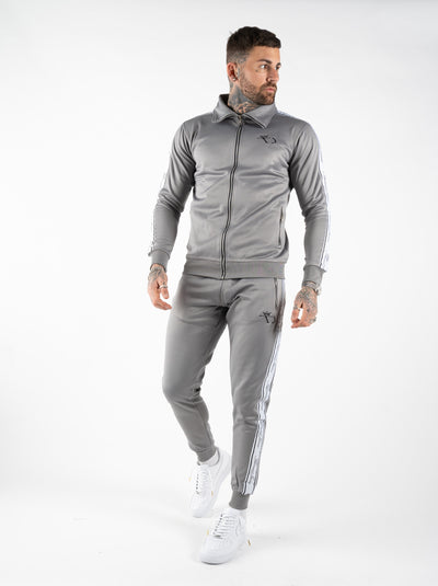 TRACKSUIT TOP - GREY