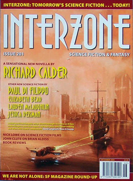 Interzone #201 (Nov-Dec 2005)