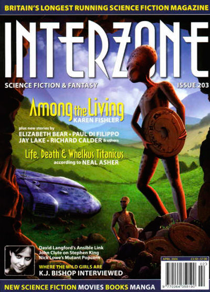 Interzone #203 (Mar-Apr 2006)