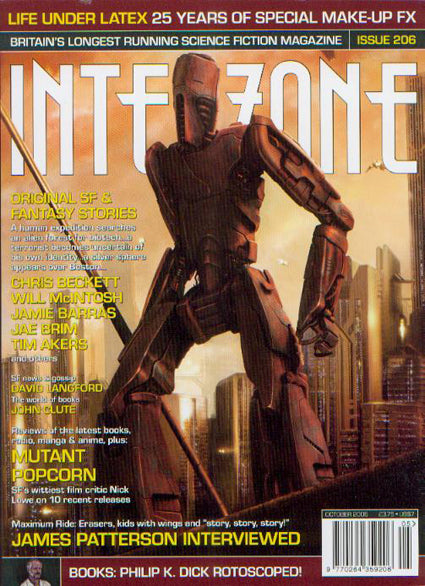 Interzone #206 (Sep-Oct 2006)