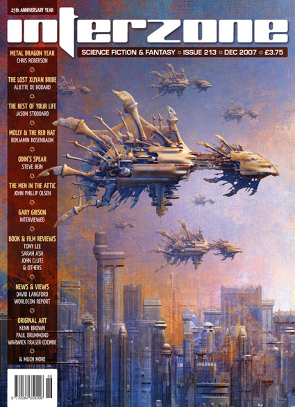 Interzone #213 (Nov-Dec 2007)