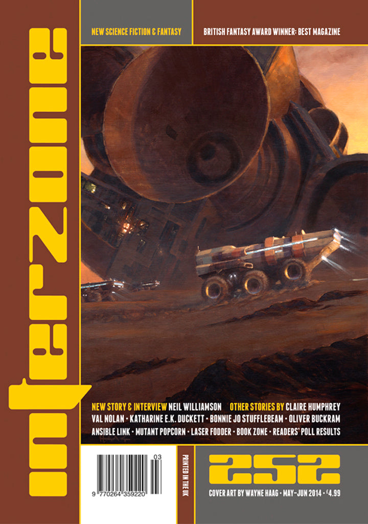 Interzone #252 (May-Jun 2014)