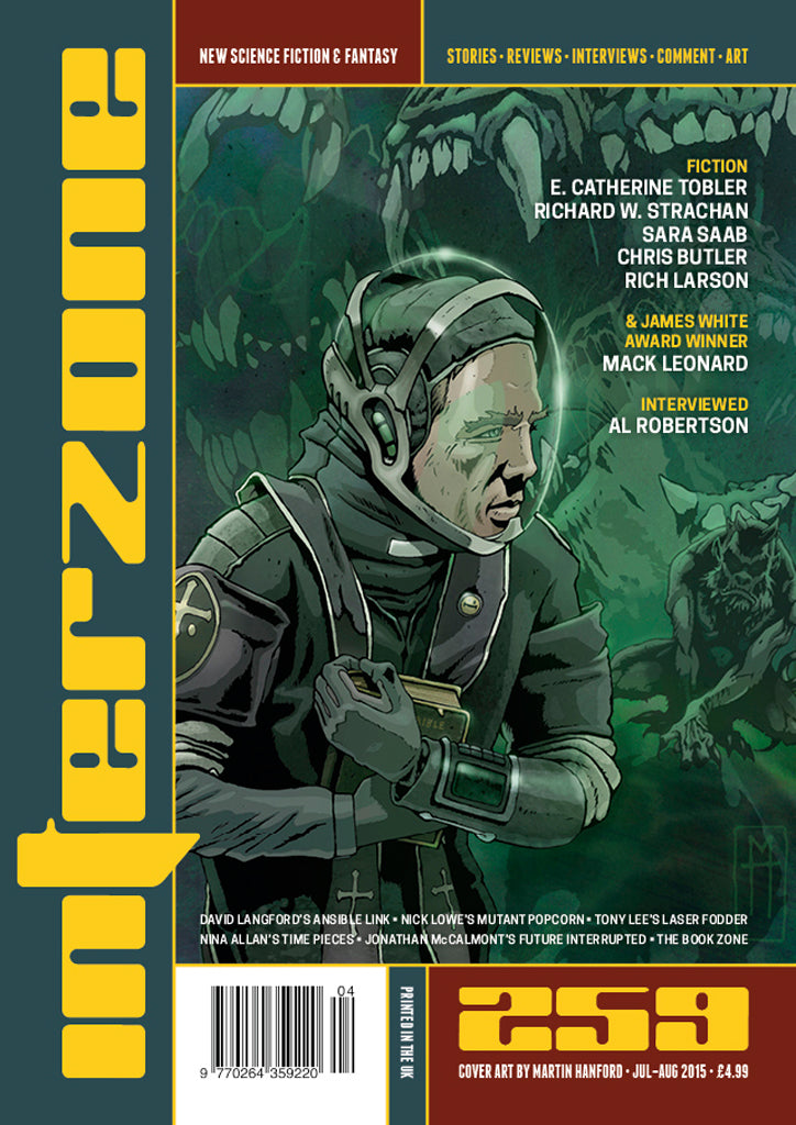 Interzone #259 (Jul-Aug 2015) Ebook