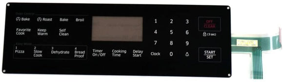 Lifetime Appliance DG34-00027B Membrane Switch Touchpad Compatible with Samsung Range Oven