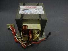 Samsung DE26-00122B Microwave High-Voltage Transformer Genuine Original Equipment Manufacturer (OEM) Part