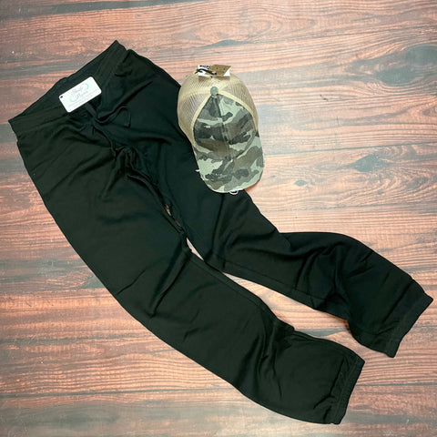 Black Jogger Sweat Pant