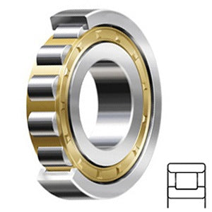 N 222 ECM/C3 Cylindrical Roller Bearings