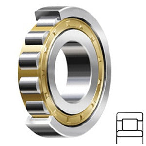 NU 324 ECM/C3 Cylindrical Roller Bearings