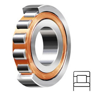 NU 2207 ECP Cylindrical Roller Bearings