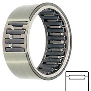 MR 12 N Needle Non Thrust Roller Bearings
