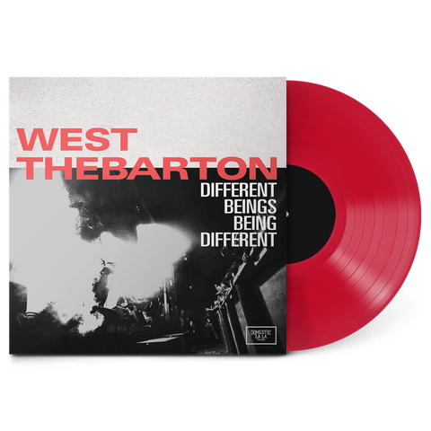 West Thebarton - Different Beings Being Different LP (Ruby Red)