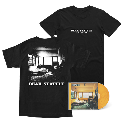 Dear Seattle 'Don't Let Go' CD + T-Shirt